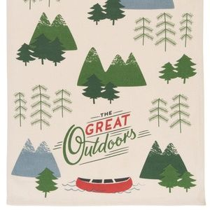 Now Designs Great Outdoors Tea Towel NWT
